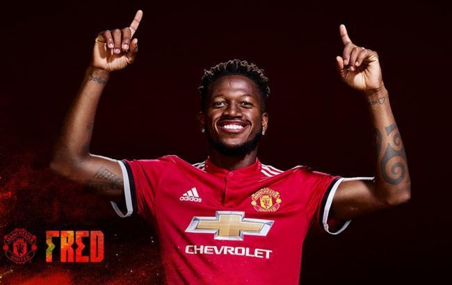 """Фред підписав з """"Манчестер Юнайтед"""" п'ятирічний контракт"""