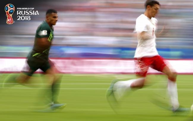 Фото: Дания - Австралия (twitter.com/FIFAWorldCup)