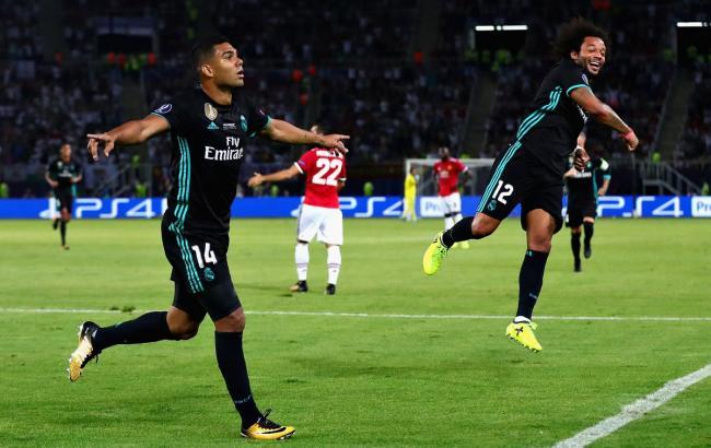 Фото: Реал Мадрид - Манчестер Юнайтед (uefa.com)