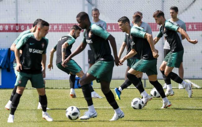 Фото: Иран - Португалия (twitter.com/selecaoportugal)