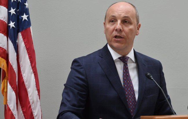 """Парубій у Вашингтоні закликав запровадити санкції проти компаній, які беруть участь у будівництві """"Nord Stream-2"""""""