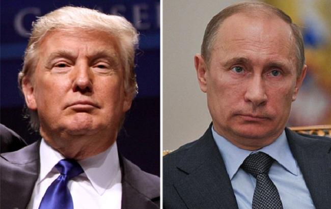 У Кремлі розповіли деталі телефонної розмови Трампа з Путіним