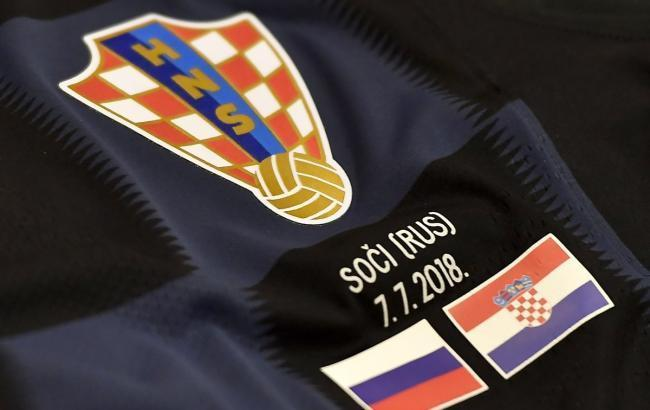 Фото: Россия - Хорватия (twitter.com/HNS_CFF)