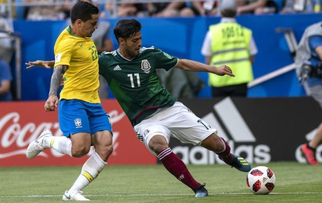 Бразилія - Мексика: онлайн трансляція (рахунок 2:0)