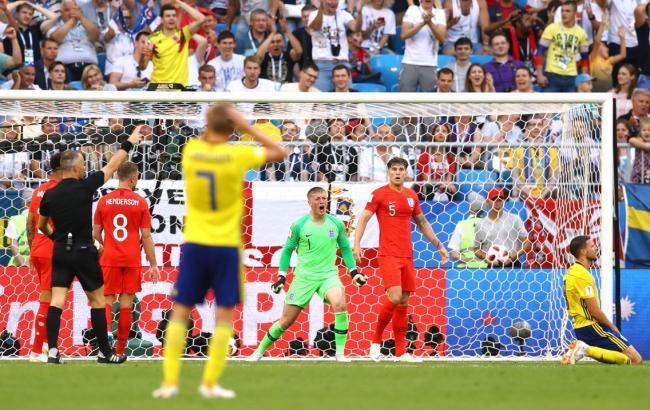 Сборная Англии обыграла Швецию и вышла в полуфинал ЧМ-2018