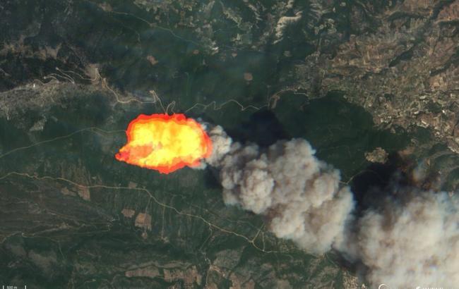 Військові оприлюднили відео наслідків смертельних пожеж у Греції