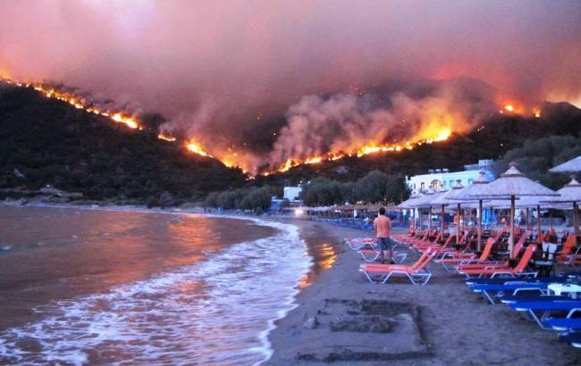 Пожежі у Греції: кількість жертв зросла до 97