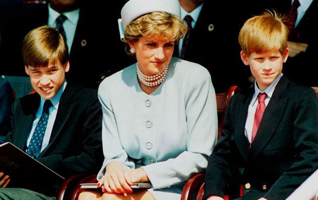 Принцеса Діана з синами (Фото - hellomagazine.com)