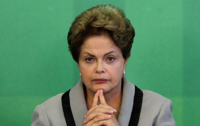 Фото: ще у травні президента Бразилії Ділму Русефф усунули від влади