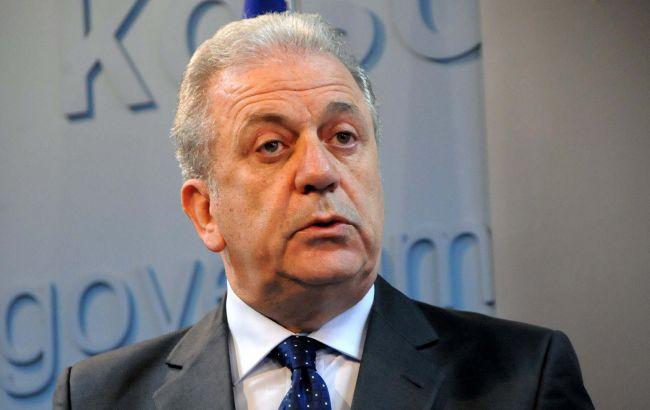 Фото: член ЕК по миграции Димитрис Аврамопулос призвал Бельгию отменить погранконтроль