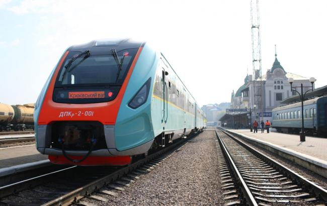 «Укрзализныця» запускает новый поезд изКиева вКременчуг