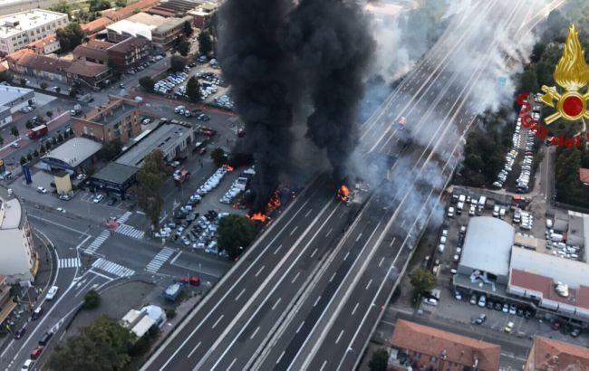 Вибух біля аеропорту Болоньї: дві людини загинули, ще 67 постраждали