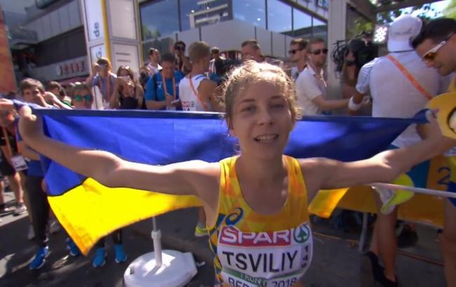 Рекордсменку Украины по легкой атлетике временно отстранили от соревнований