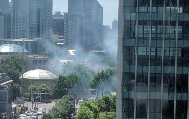 У центрі Пекіна стався вибух біля посольства США