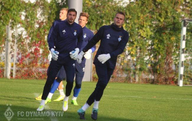 Фото: Динамо - Скендербеу (fcdynamo.kiev.ua)