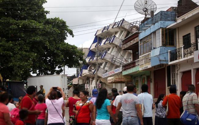 Фото: землетрус у Мексиці (ABC7 Eyewitness News twitter.com)