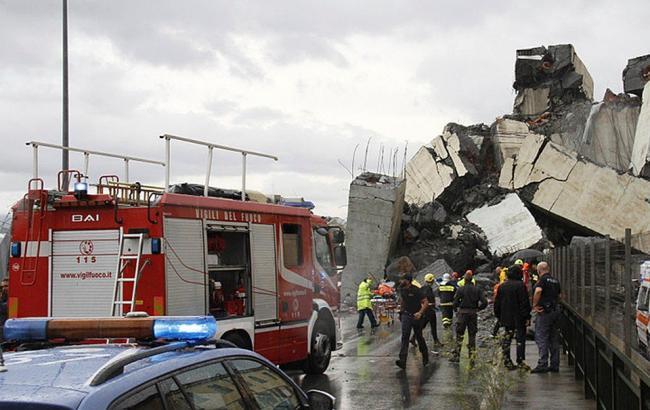 Обвал моста в Генуї: українців серед загиблих немає