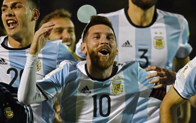 Фото: Месси вывел Аргентину на мундиаль (twitter.com/FIFAWorldCup)