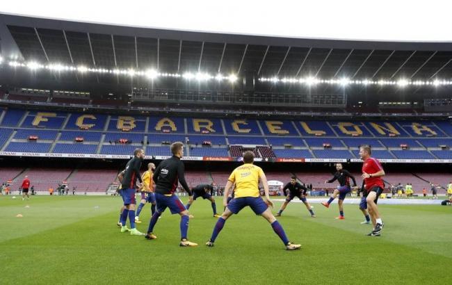 "Фото: ФК ""Барселона"" (twitter.com/FCBarcelona)"