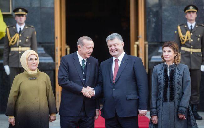 Порошенко назвав Туреччину справжнім стратегічним партнером України