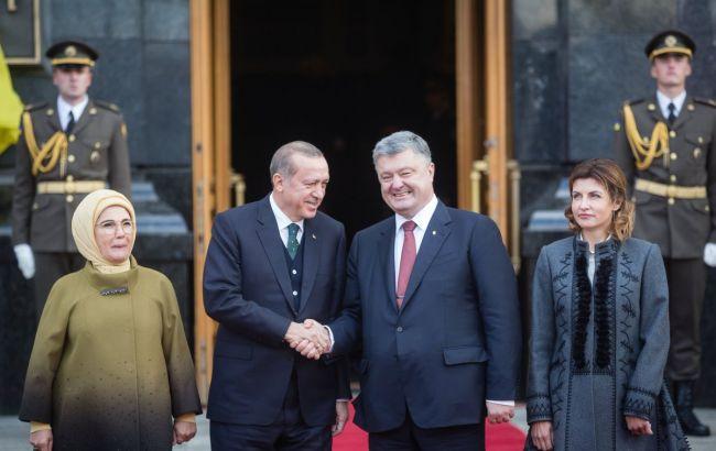 Туреччина підтримує територіальну цілісність України разом з Кримом, - Ердоган