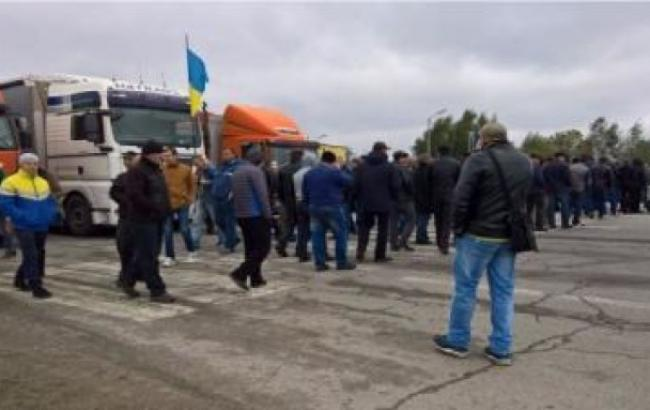 Акция протеста на границе с Польшей завершилась