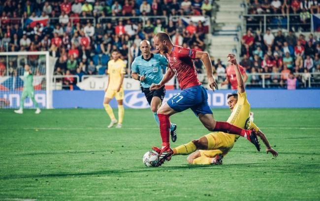 Збірна України обіграла Чехію у дебютному матчі Ліги Націй