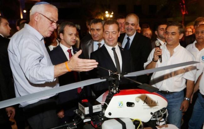 Фото: Медведев в Израиле (tjournal.ru)