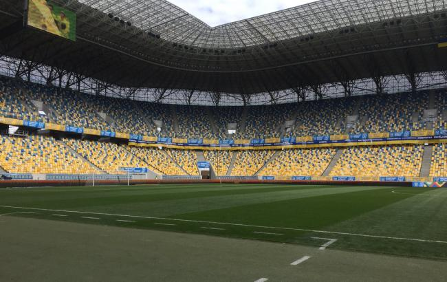 Фото: Україна - Словаччина (ffu.ua/Евгений Кравс)