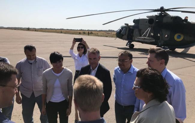 Глава МИД Норвегии приехала на Донбасс
