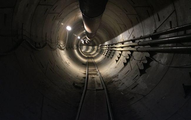 Фото: тоннель под Лос-Анджелесом (twitter.com/elonmusk)