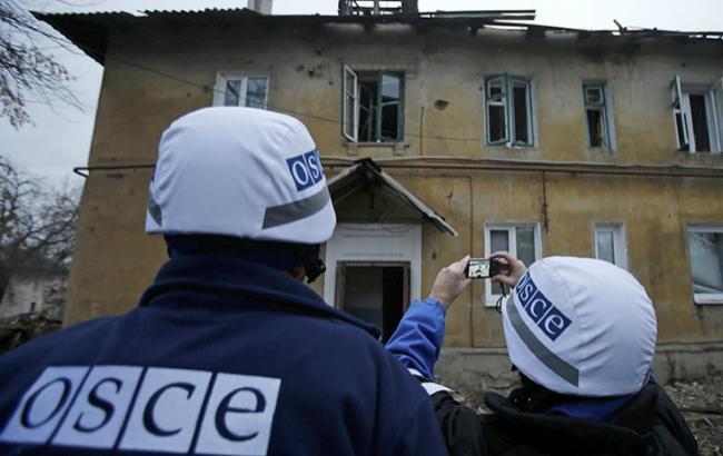 Фото: Спеціальна моніторингова місія ОБСЄ на Донбасі