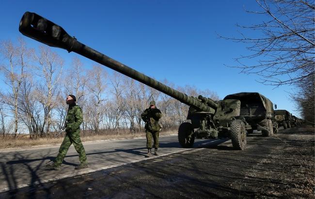 Росія є гарантом відведення бойовиками гармат калібром менше 100 мм