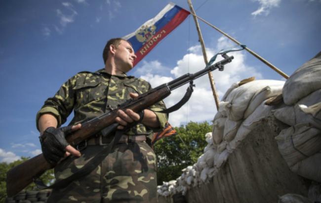 В Донецке боевики перекрыли центральную улицу