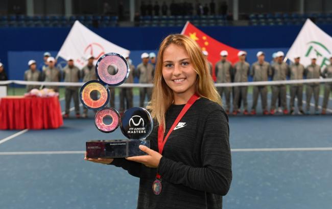 Марта Костюк выиграла итоговый Мастерс среди юниоров