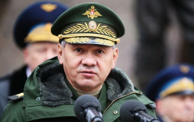 Фото: глава Минобороны РФ Сергей Шойгу
