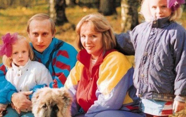 Фото: Володимир Путін з родиною (artyushenkooleg.ru)
