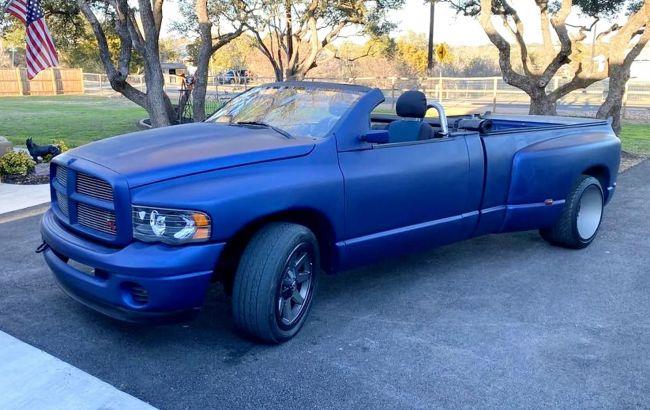 Пикап Dodge Ram превратили в экстравагантный кабриолет