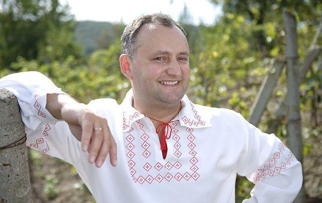 Фото: избранный президент Молдовы Игорь Додон