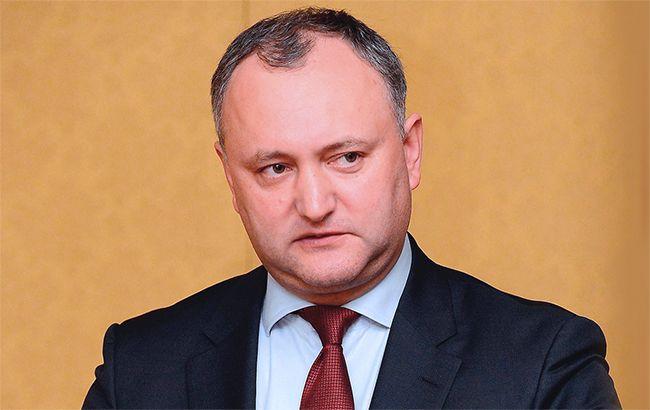 Фото: президент Молдовы Игорь Додон