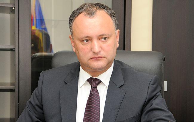 Фото: Ігор Додон став президентом Молдови