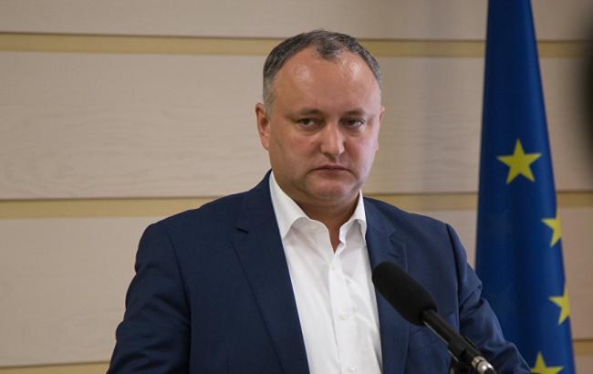 Фото: президент Молдови Ігор Додон