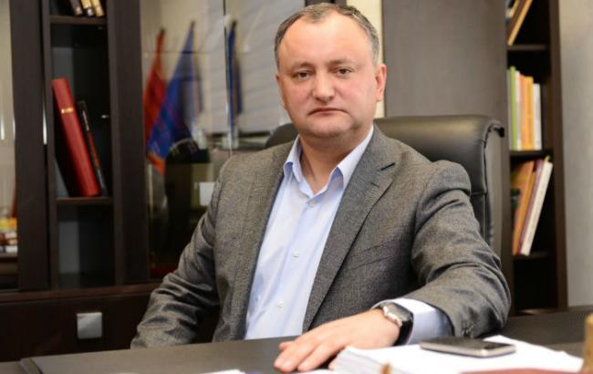 Фото: лидер социалистов Молдовы Игорь Додон