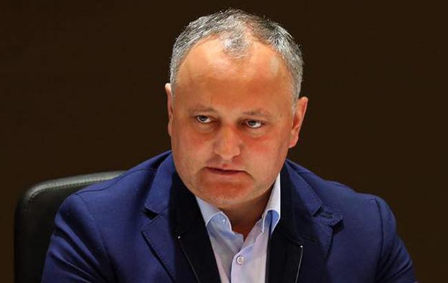 Додон виступив проти статті про євроінтеграцію в конституції Молдови