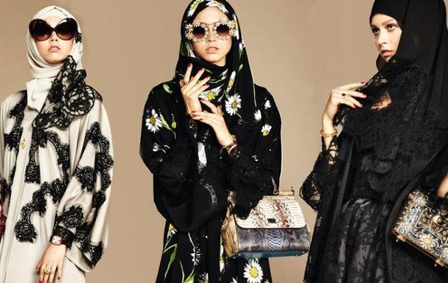 Dolce & Gabbana одели мусульманок в стильные хиджабы