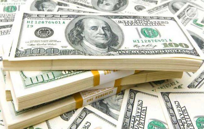 Курс долара на міжбанку 6 січня зріс до 27,25