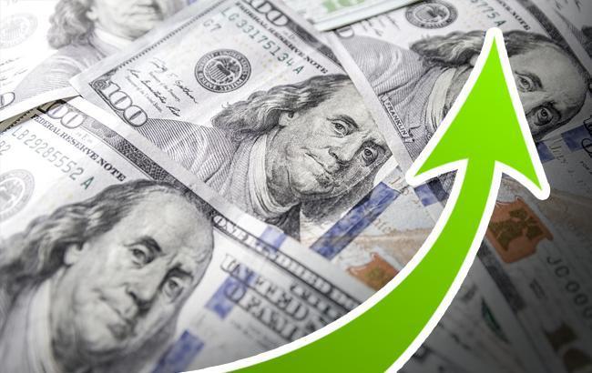 Курс доллара на межбанке 8 августа вырос до 27,07 гривен/доллар
