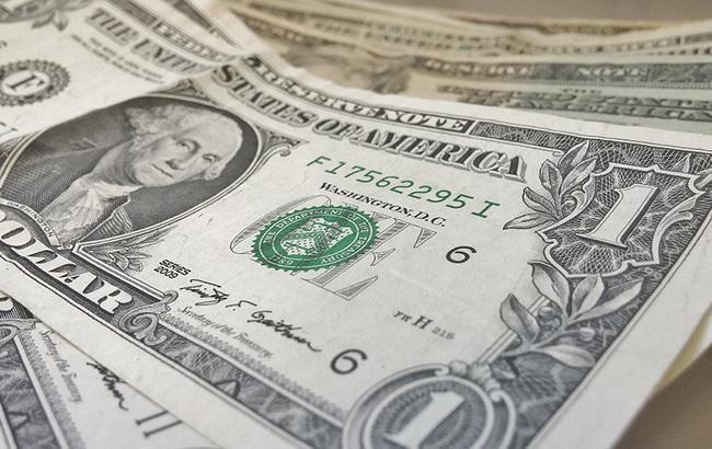 Доллар упал вцене напервых торгах недели
