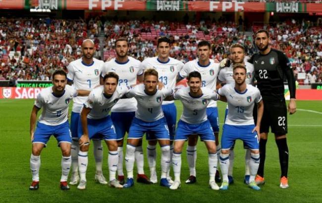 Фото: гравці збірної Італії (twitter.com/Vivo_Azzurro)