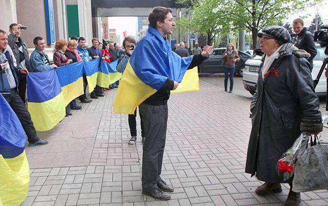Відкрита демонстрація громадянської позиції в Донецьку може обернутися для українців загрозою для життя